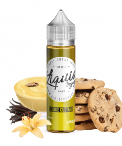 Liquidvoyage Cookie Custard Shortfill Vape E-Juice