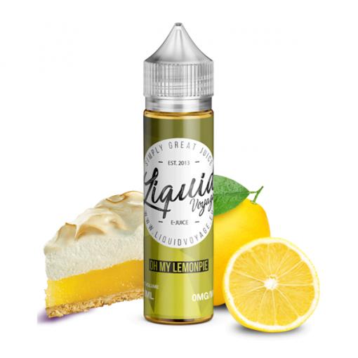 Liquidvoyage Oh My Lemonpie Shortfill Vape E-Juice
